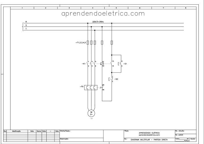 multifilar - O que são diagramas elétricos?
