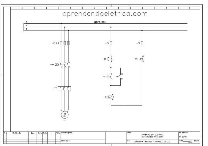 trifilar - O que são diagramas elétricos?