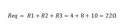 associação de resistores serie 1.1 - Exercício associação de resistores em série
