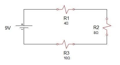 associação de resistores serie 1 - Exercício associação de resistores em série