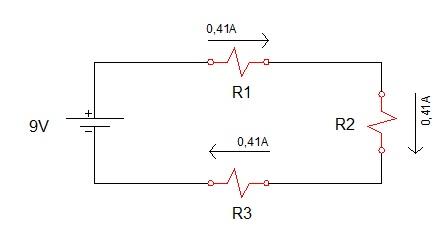 associação de resistores serie 3 - Exercício associação de resistores em série