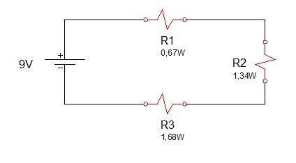 associação de resistores serie 5 - Exercício associação de resistores em série