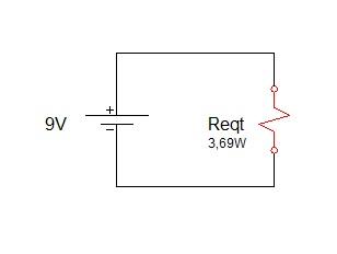 associação de resistores serie 6 - Exercício associação de resistores em série