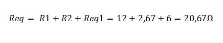 associação resistores mista 2.1 - Exercício associação de resistores mistos