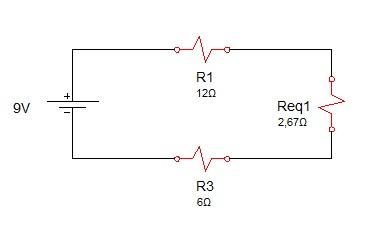 associação resistores mista 2 - Exercício associação de resistores mistos