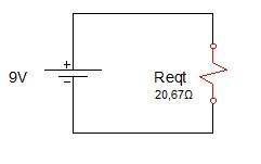 associação resistores mista 3 - Exercício associação de resistores mistos