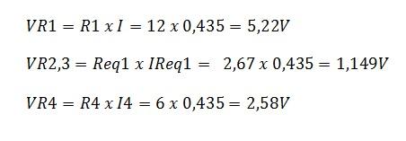 associação resistores mista 4.1 - Exercício associação de resistores mistos
