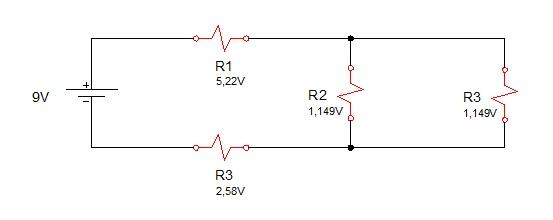 associação resistores mista 4 - Exercício associação de resistores mistos