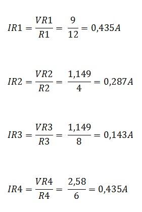 associação resistores mista 5.1 - Exercício associação de resistores mistos
