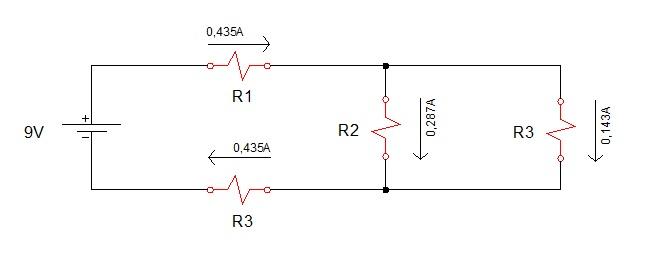 associação resistores mista 5 - Exercício associação de resistores mistos