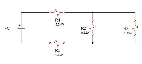 associação resistores mista 6 - Exercício associação de resistores mistos