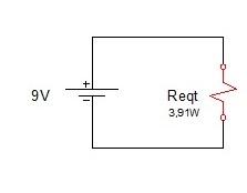 associação resistores mista 7 - Exercício associação de resistores mistos
