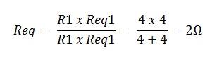 associação resistores paralelo 2.1 - Exercício associação de resistores em paralelo