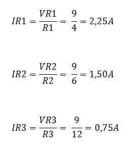 associação resistores paralelo 5.1 - Exercício associação de resistores em paralelo