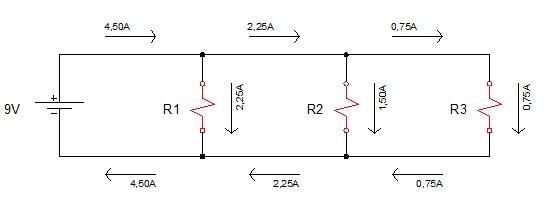 associação resistores paralelo 5 - Exercício associação de resistores em paralelo