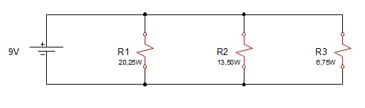 associação resistores paralelo 6 - Exercício associação de resistores em paralelo