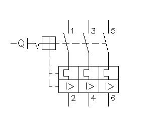 disjuntor tripolar simbologia - O que é um disjuntor termomagnético?