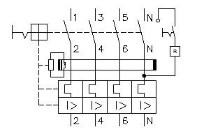 Simbologia disjuntor diferencial residual DDR - O que é e como funciona um IDR?