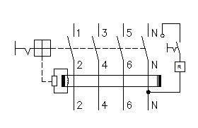 Simbologia interruptor diferencial residual IDR - O que é e como funciona um IDR?