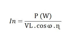 O que é e como calcular uma corrente nominal? - Aprendendo