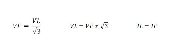 fórmula fechamento estrela motor - Fechamentos de motores elétricos trifásicos
