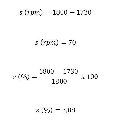 como calcular escorregamento - O que é escorregamento de um motor elétrico?